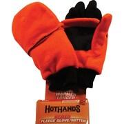 Gants chauffés, orange enflammée