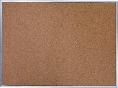Quartet® Basic Cork Bulletin Board, 24