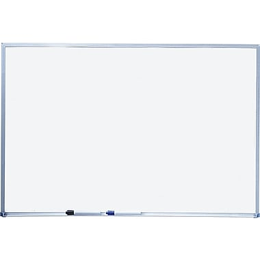 Quartet® Basic Whiteboard, Silver Aluminum Frame, 8'W x 4'H