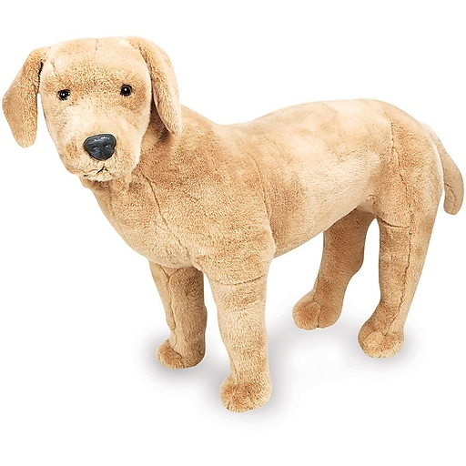 Melissa & Doug Yellow Lab Giant Stuffed Animal (2116)
