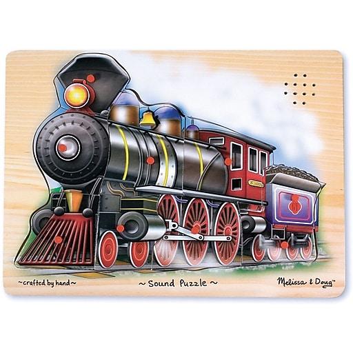 Melissa & Doug Train Sound Puzzle - 9 Pieces (341)