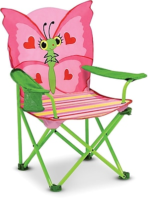 Melissa & Doug Bella Butterfly Child's Outdoor Chair (6173)