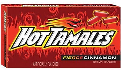 Hot Tamales Theater; 5 oz. Theater Box, 12 Boxes