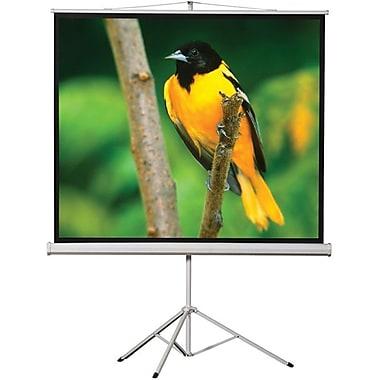EluneVision - Écran de projecteur trépied portatif, 70 po x 70 po