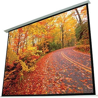 EluneVision – Écran de projecteur électrique au plafond, 120 po, 4:3