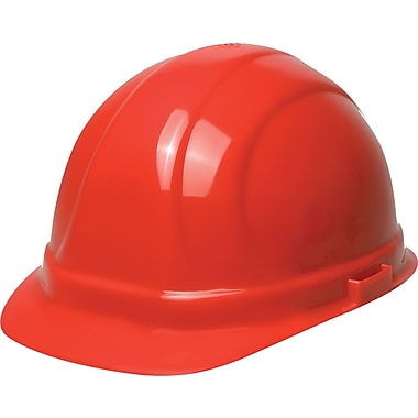 Omega II® Hard Hat, CSA Type 1, Slide-Lock, Class E Certified, ANSI Type I, Red