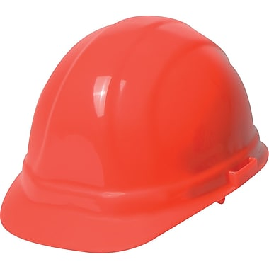 Omega II® Hard Hat, CSA Type 1, Mega Ratchet, Class E Certified, ANSI Type I, Hi-Viz Orange