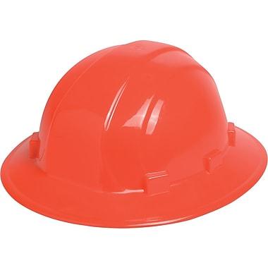 Omega II® Hard Hat, Full Brim, CSA Type 1, Slide-Lock, Class E Certified, ANSI Type I, Hi-Viz Orange