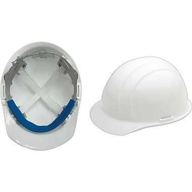 Liberty® Hard Hats, CSA Type 1, Slide-Lock, Class E Certified, ANSI Type I, White