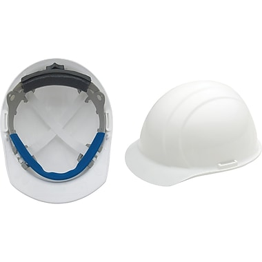Liberty® Hard Hats, CSA Type 1, Mega Ratchet, Class E Certified, ANSI Type I, White