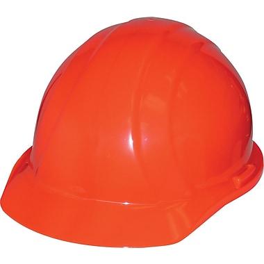 Liberty® – Casques durs, ajustement à cliquet, homologué CSA Type 1, classe E, ANSI Type I, orange fluo