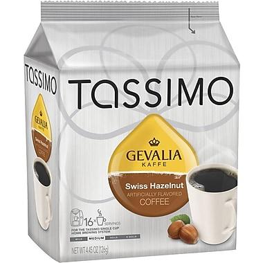 Tassimo Gevalia Swiss Hazelnut Coffee, 16 T-Discs/Pack