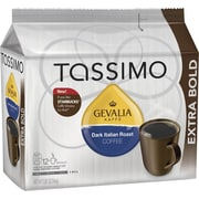 Tassimo® Gevalia® Dark Italian Roast Coffee T-Discs, Dark Roast, 12/Box (04395)
