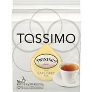 Tassimo Twinings Earl Grey Tea, 16 T-Discs/Pack