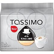 Tassimo® King of Joe® Cappuccino T-Discs, 8 Servings/Box (7269)