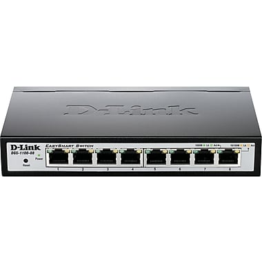 D-Link® DGS-1100-08 8-Port EasySmart Switch