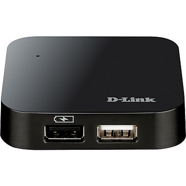 D-Link® DUB-H4BL 4-Port USB Hub