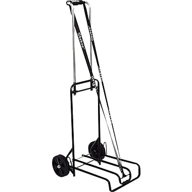 Stebco Luggage Cart, 250 lb. Capacity, Black