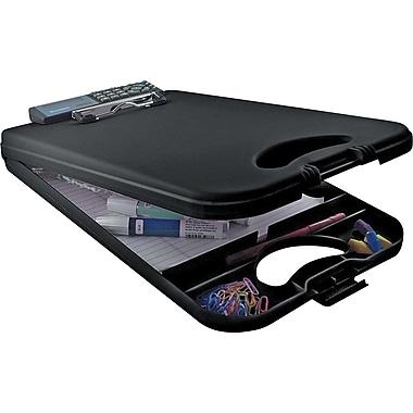 Saunders DeskMate II Portable DeskMate Storage Clipboard, Black