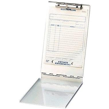 Saunders – Planchette à pince avec rangement, aluminium, 5,8 x 9,5 po