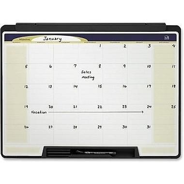 Quartet® Cubicle Motion Dry-Erase Monthly Calendar, 24