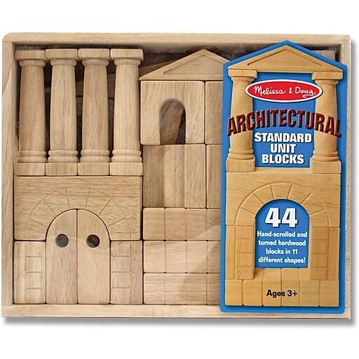 Melissa & Doug Architectural Unit Blocks (4201)