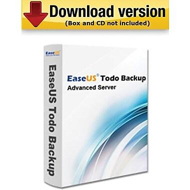 EaseUS Todo Backup Advanced Server pour Windows (1 utilisateur) [Téléchargement]