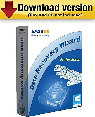 EASEUS Data Recovery Wizard Professional for Windows (1 User) [Download]