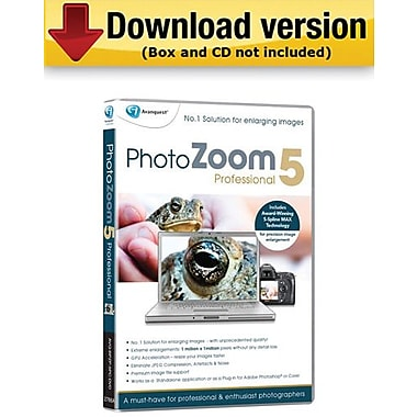 Avanquest PhotoZoom 5 Pro for Mac (1-User) [Download]