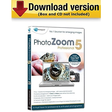 Avanquest PhotoZoom 5 Pro for Windows (1-User) [Download]