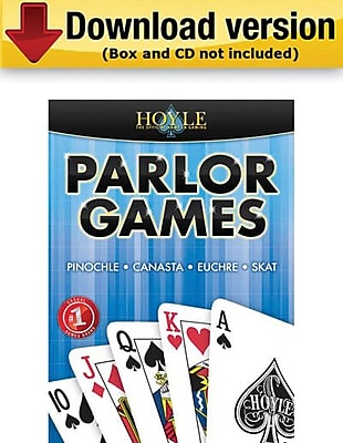 Encore Hoyle Parlor Games for Windows (1-User) [Download]