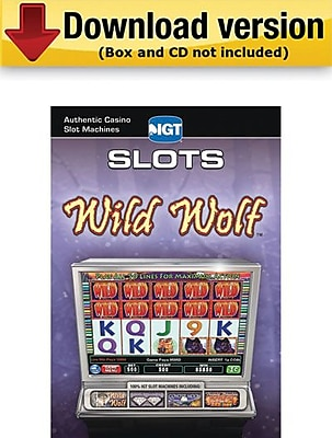 Encore IGT Slots Wild Wolf for Windows (1-User) [Download]