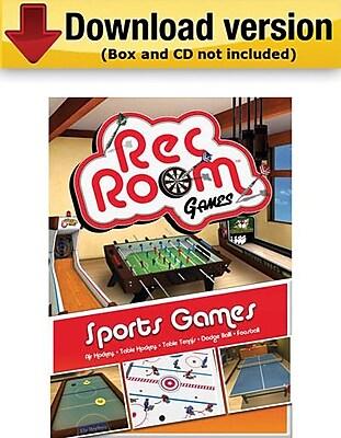 Encore Rec Room Volume 1: Sports Games for Windows (1-User) [Download]