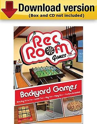 Encore Rec Room Volume 4: Backyard Games for Windows (1-User) [Download]