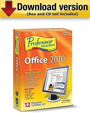 Individual Software Professor Teaches Office 2010 Tutorial Set Downloads for Windows (1-User) [Download]
