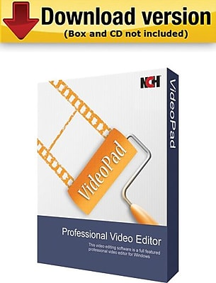 NCH Software VideoPad for Windows (1-User) [Download]