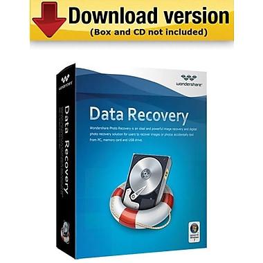 Wondershare — Data Recovery pour Windows (1 utilisateur) [Téléchargement]