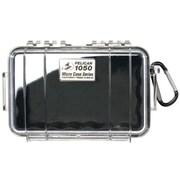 Pelican 1050-025-100 Micro Case for Small Accessories, Clear/Black