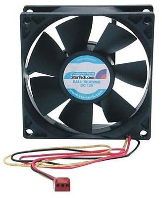 StarTech FANBOX2 Dual Ball Bearing Computer Case Fan With TX3 Connector, 3000 RPM