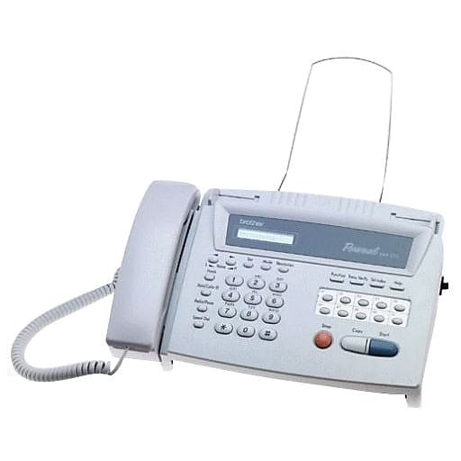 brother 275 personal fax machine staples