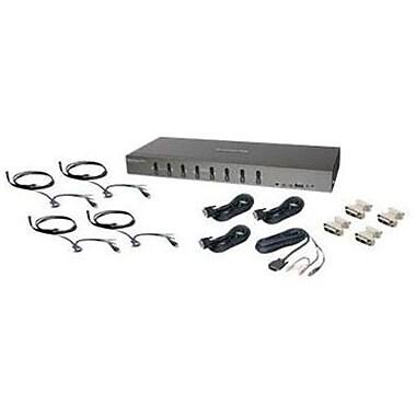 Iogear® GCS1108KIT2 USB/DVI KVMP Switch, 8 Ports