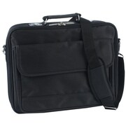 "Atdec TAACASE10 Nylon Twill 15.4"" Laptop Case With Pockets Straps"