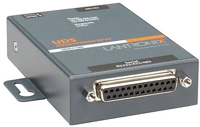 Lantronix® UD11000P0-01 Device Server With PoE, 1 Port