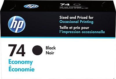 HP 74 Black Economy Ink Cartridge (B3B20AN)