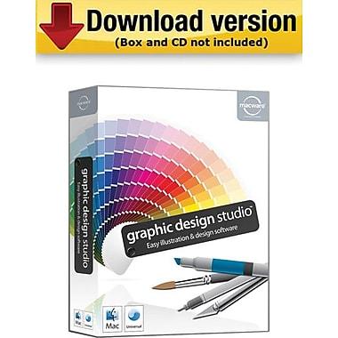 Macware – Graphic Design Studio pour Mac (1 utilisateur) [Téléchargement]