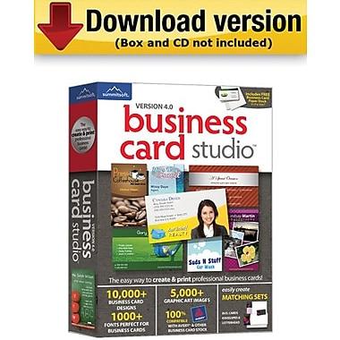 Summitsoft – Business Card Studio 4.0 pour Windows (1 utilisateur) [Téléchargement]