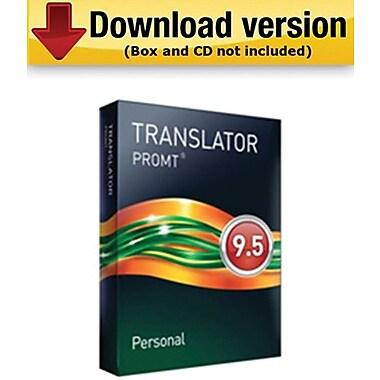 PROMT – PERSONAL 9,5 pour Windows (1 utilisateur) [Téléchargement]