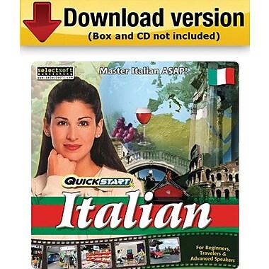 SelectSoft – QuickStart Italien pour Windows (1 utilisateur) [Téléchargement]