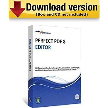 Perfect PDF 8 Editor pour Windows (1 utilisateur) [Téléchargement]