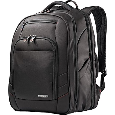 Samsonite – Sac à dos Xenon 2 Perfect Fit pour ordinateur portatif de 15,6, noir